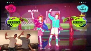 Just Dance II - Wii - Barbie Girl - Aqua - Duet (HD)