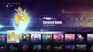 Samba jd2016 menu