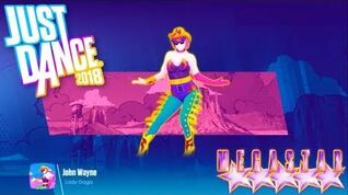 Just Dance 2018 - John Wayne by Lady Gaga MEGA STAR