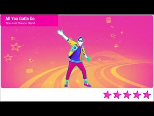 Just Dance 2021 Unlimited All You Gotta Do Is Just Dance 5 Stars + Megastar PS4 Gameplay Phone Mode