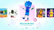 Blue jd2020 menu kids