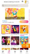 Calypso jdnow menu phone 2020