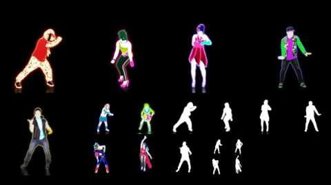 Beauty And A Beat (Puppet Master Mode) - Just Dance 4 (Extraction)