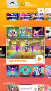 Danse jdnow menu phone 2017