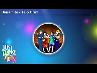 Dynamite - Taio Cruz - Just Dance Wii 2