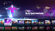 Americano jd2016 menu