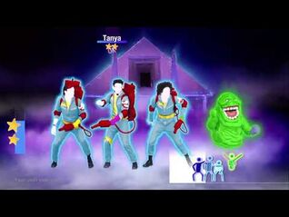 Just Dance 2019 Gameplay - Ghostbusters theme song from 2014 game