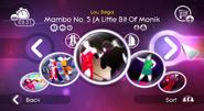 Mambo5 jd2 menu