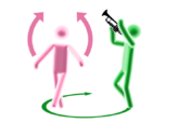 Loveisall trumpet picto