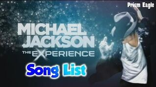 Songlist - Michael Jackson The Experience (Wii)