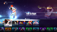 FeelSoRight jd2016 menu