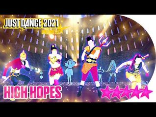 Just Dance 2021 (Unlimited)- High Hopes - 5 stars