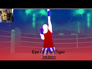 Just Dance 2021 Eye Of The Tiger 5 stars Nintendo Switch