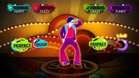 Just Dance 3 - Soul Searchin Wii Footage UK