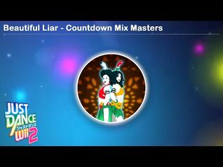 Beautiful Liar - Countdown Mix Masters - Just Dance Wii 2