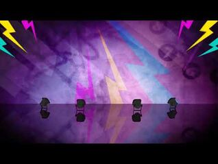 TiK ToK background - Just Dance Greatest Hits - Best Of (Wii)
