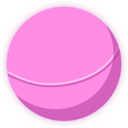 Collectible ball pink