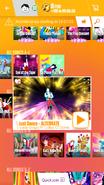 Justdanceswtdlc jdnow menu phone 2017