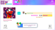 Dancemonkey jdnow score