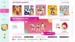 Just Dance 2020 (Unlimited) Boys (Summertime Love) 5*'s Gameplay