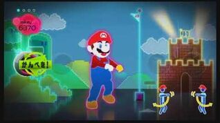 Just Dance Wii Just Mario Simon Says Mode wii on wii u