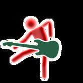 Xmas guitar picto