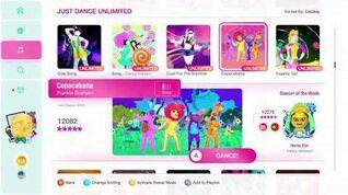 Just Dance 2020 (Unlimited) Copacabana 5*'s Gameplay