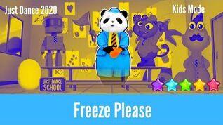 Just Dance 2020 Freeze Please - Kids Mode