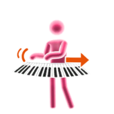 Tsukematsukeru piano picto