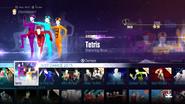 Tetris jd2016 menu