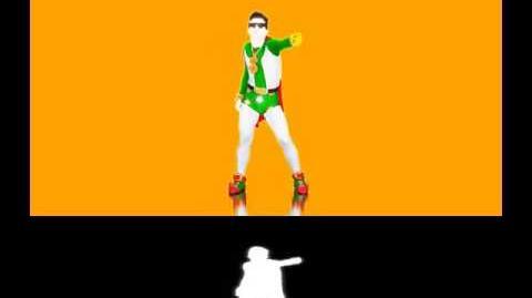 Alfonso Signorini (Eroe Nazionale) - Just Dance 2014 (Extraction)