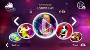 Cosmicgirl jd2 menu