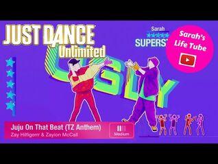 Juju On That Beat (TZ Anthem), Zay Hilfigerrr & Zayion McCall - 5 STARS - Just Dance 2017 -PS4-