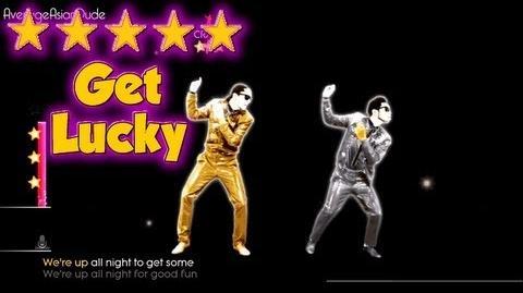 Just Dance 2014 - Get Lucky - 5* Stars