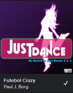Spotify Paul J Borg Futebol Crazy