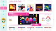 Pacman jd2020 menu
