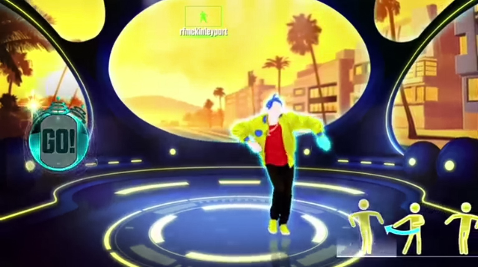 Just Dance Machine/West Coast