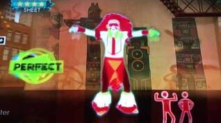Just dance 3 apache (jump on it) simon says mode Wii