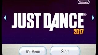 Just Dance 2017 Song List Menu (Wii)