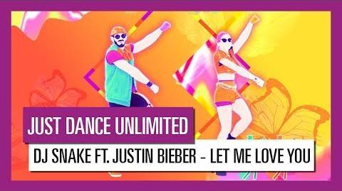 LET ME LOVE YOU (DJ SNAKE FT