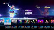 Starships jd2016 menu