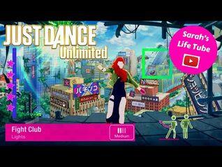 Fight Club, Lights - MEGASTAR - Gameplay - Just Dance 2018 Unlimited -PS5-