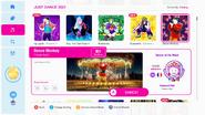 Dancemonkey jd2021 menu