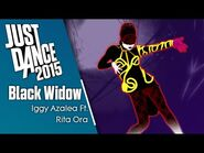 Just Dance 2015- Black Widow