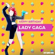 Bornthisway ladygaga birthday