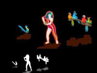 Just Dance 4 Extract - Around the World - -7