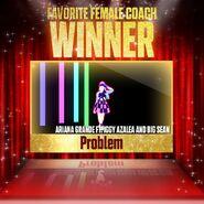 Justdanceawards favoritefemalecoach winner