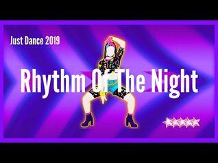Just Dance 2019 - Rhythm Of The Night