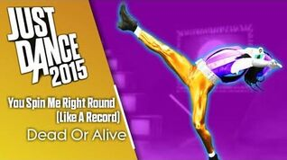 Just Dance 2015 You Spin Me Round (Like A Record)