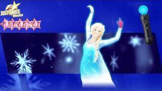 Танец Just Dance® 2018 (Unlimited) - Let It Go (НА ПОДПЕВКАХ) by Disney's Frozen (PS Move)
